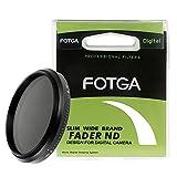 Fotga調節可能スリムフェーダーnd400に変数NDニュートラル密度nd2フィルター 40.5mm AA1415