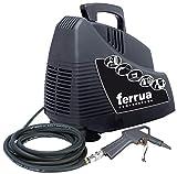 compresseur 50 litres 2 hp cuve verticale coal sans huile FERRUA