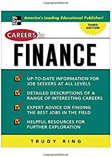 By Trudy Ring Careers in Finance (Careers in... Series) (3rd Edition) [Paperback]