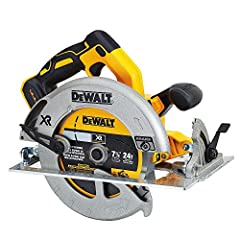 "Power - Brushless motor provides 5200Rpm and maintains speed under load Runtime - 100 cross cuts in a 2x4 (Pine) Capacity - 7-1/4"" blade provides 2-9/16"" depth of cut Ease of use - bevel capacity up to 57 degrees Battery not included Battery & Charge..."