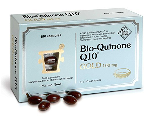 Bio-Quinone Q10 Gold 100mg (150 Capsules) - x 2 *Twin Deal Pack* by Pharma Nord