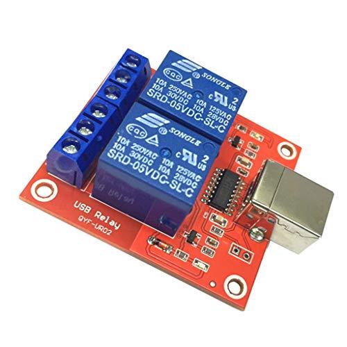 Harilla Módulo de de 2 Canales 5V con Luz Indicadora de Energía para Control MCU