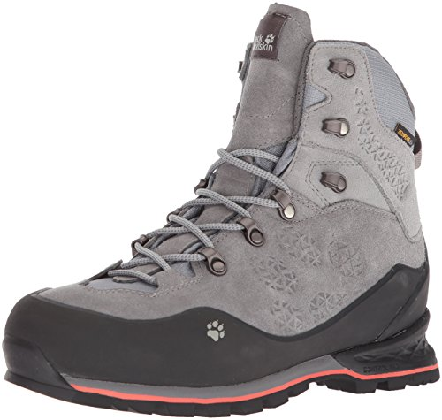 Jack Wolfskin Damen Wilderness Texapore MID W, Tarmac Grey, 40 EU