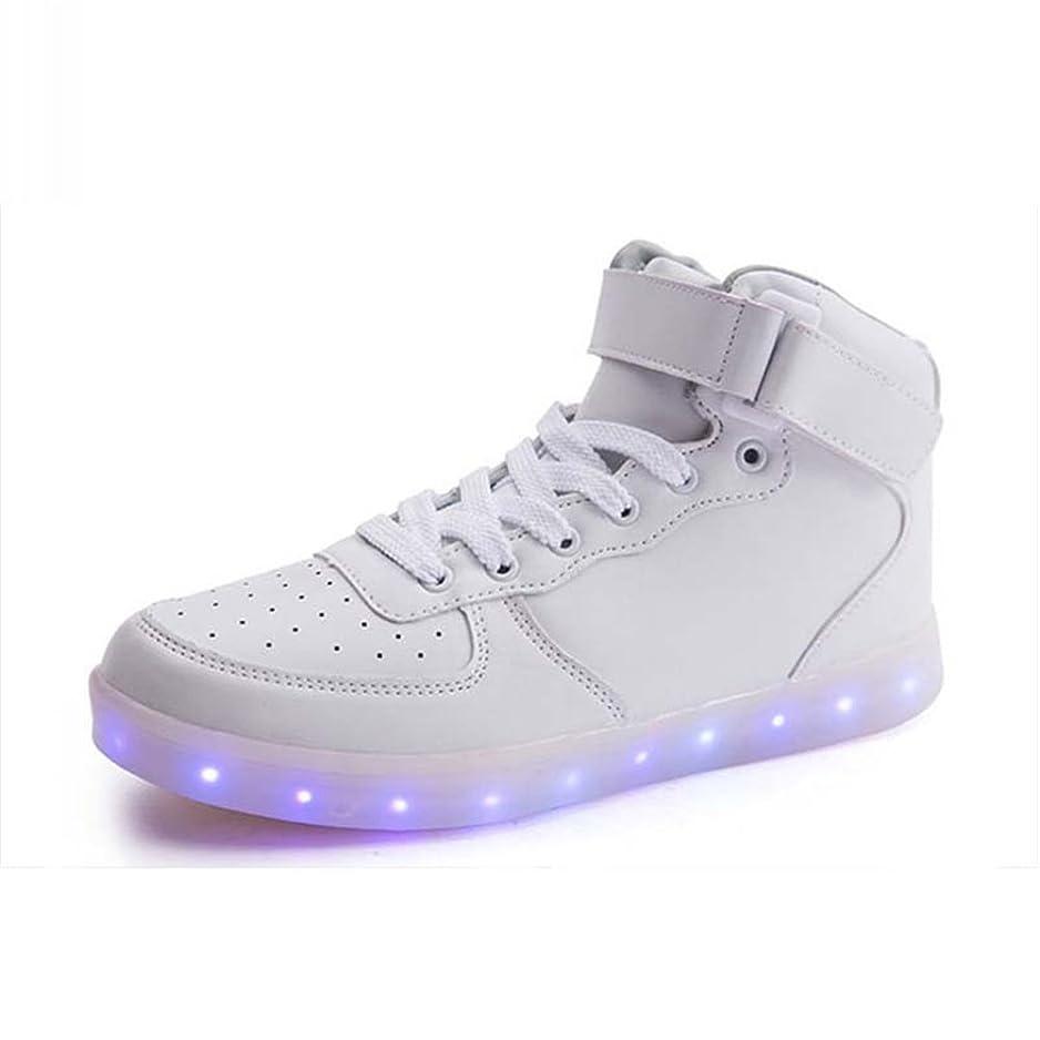 取り囲むタンク一口[ファッション?フロント] 発光シューズ スニーカー 男女通用 USB充電スニーカー ハイカット 光る靴 スポーツシューズ LEDシューズ 光るシューズ LED靴 レディース メンズ ダンス
