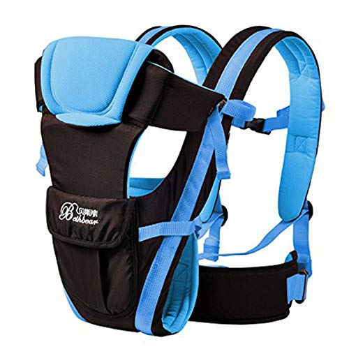 Vine Ajustable 4 posiciones de módulos 3D Mochila bolso de la bolsa del abrigo suave estructurado infantil ergonómico honda Anverso bebé recién nacido