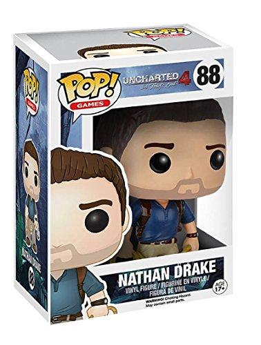 "Funko 8636 Uncharted 8636 ""POP Vinyl Nathan Drake"" Figure"