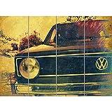 Doppelganger33 LTD Vw Golf Mk1 Front Grill Classic Car Wand