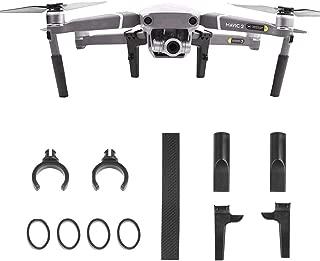 YANSHON Landing Gear Legs Height Extended Kit Riser Set Stabilizers for DJI Mavic 2 Pro Zoom Drone, Landing Gear Extensions Risers for Drone