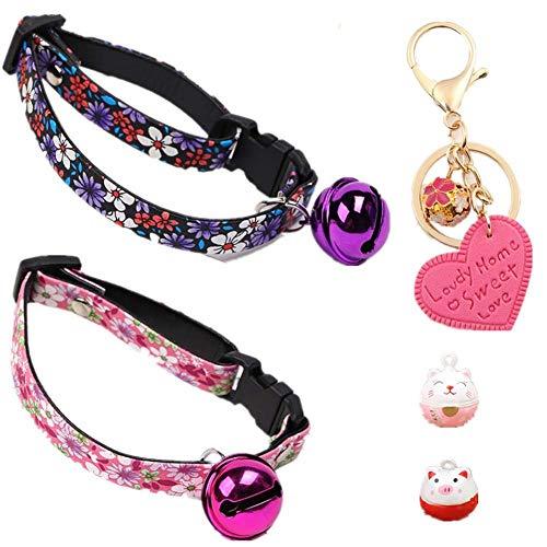 GOUSHENG collar Mascotas Perros Juego Completo 2Pcs