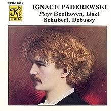 Ignace Paderewski Plays
