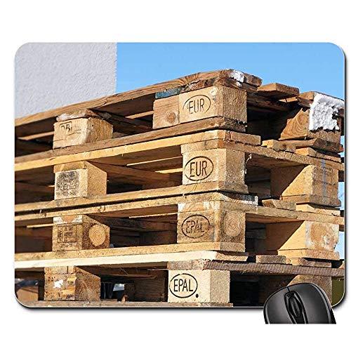 Mousepad Europaletten Holzpaletten Industrie Muster Epal Mauspad Spielmatte Mousepad Mauspad Mauspads 25X30cm