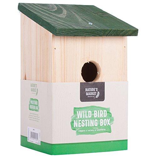 Bonnington Plastics Nido per uccelli in legno tradizionale