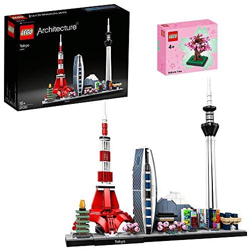 【メーカー特典】 レゴ(LEGO) アーキテクチャー 東京 21051+さくら ミニセット(日本限定)付き