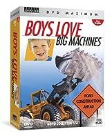 DVD Maximum - Boys Love Big Machines: 4-dvd Collector's Set