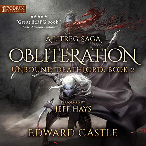 Obliteration audiobook cover art