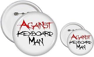 Kit de création de boutons et badges contre le clavier de l'homme