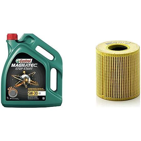 Castrol Magnatec 5w 30 C2 Stop Start Motorenöl 5l Mann Filter Ölfilter Hu 711 51 X Ölfilter Satz Mit Dichtung Dichtungssatz Für Pkw Auto