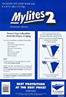 """Mylites 2 Mil Comic Book Golden Age Size 8"""" x 10 1/2"""" Plus 1-1/2"""" Flap Pack of 50 [並行輸入品]"""