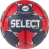 SELECT Futura Ballon de Handball Unisexe pour Adolescent, Gris, Rouge, Blanc, 1