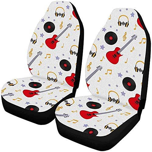 Set van 2 Autostoelhoezen Zilver Bulldog Zuid-Afrikaanse Boerboel Ketting En Wit Universele Auto Voorstoelen Beschermer 14-17IN