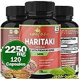 Organic India Haritaki Capsules 2250MG,...