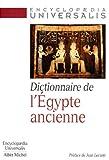 Dictionnaire de l'Egypte ancienne