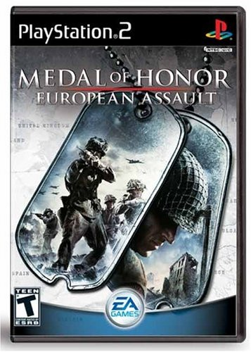 Medal of Honor European Assault - PlayStation 2 by Electronic Arts