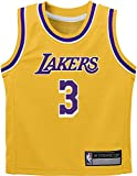 nba jersey kids - NBA Kids 4-7 Official Name and Number Replica Home Alternate Road Player Jersey (7, Anthony Davis Los Angeles Lakers Yellow Icon Edition)