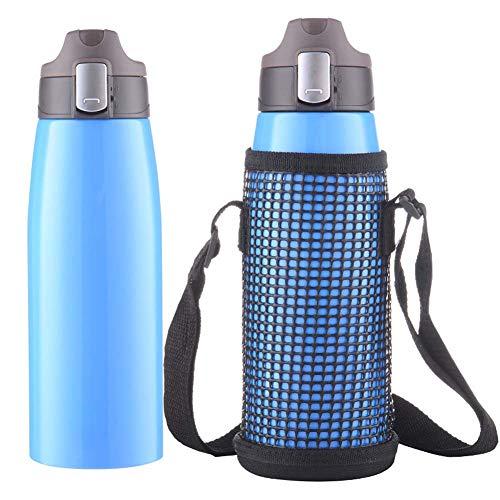 GH-YS Botella para Deportes Al Aire Libre - Regalo Creativo Frasco De VacíO 304 Taza De Oficina De Acero Inoxidable 750ML