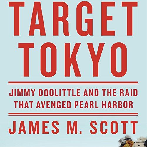 Target Tokyo audiobook cover art