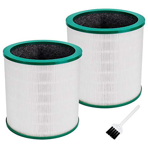 Blutoget HEPA Air Purifier Filter - Compatible with Dyson Tower Purifier TP00 TP01 TP02 TP03 BP01 Pack of 2