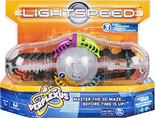 Games 6045888 Perplexus juego de velocidad, laberinto de cerebro 3D con luces y sonidos para niños de 7 años en adelante, multicolor , color/modelo surtido