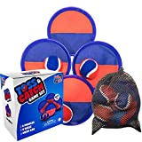 Toss and Catch Ball Game - Premium Set of 4 Sticky...