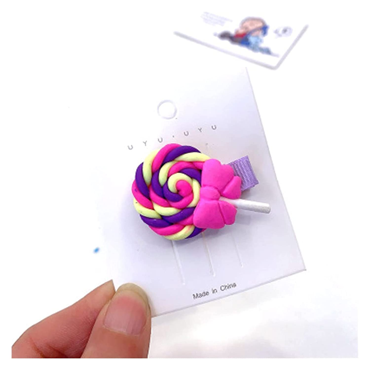 Hair accessories Max 54% OFF 2pcs Cute LollipopPopsicles Max 84% OFF Hairpi Kids Colored