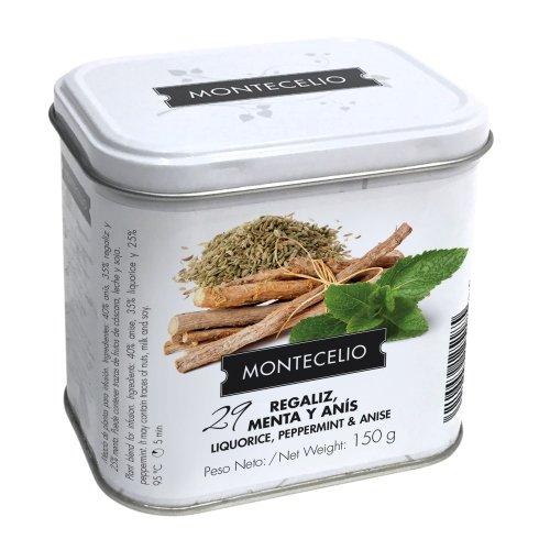 Montecelio - Infusion en Rama Regaliz Menta Anis - 150 g