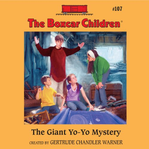The Giant Yo-Yo Mystery audiobook cover art