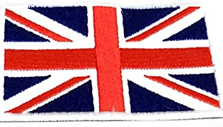 Patch Portal United Kingdom National Flag Emblem Great Britain Nation Country 2x3 Inches Sew on Embroidered England UK Uni...