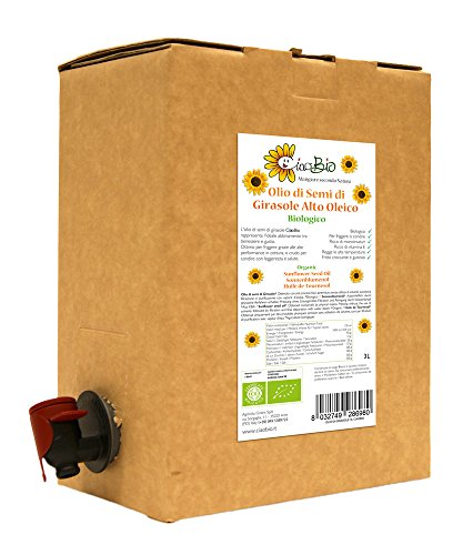 OLIO DI GIRASOLE BAG-IN-BOX 3L (CiaoBio)