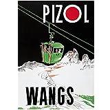 zkpzk Schweiz St.Gallen Tourismus Poster Wangs Pizol