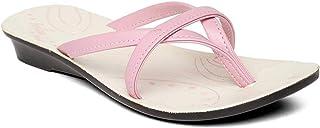 PARAGON Women's Pink Fashion Slipper