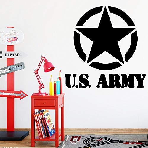 wZUN Kreative US Army Wandaufkleber Vinyl Wandaufkleber Kinder Home Decoration Aufkleber Wohnzimmer Dekoration Zubehör 30x30cm