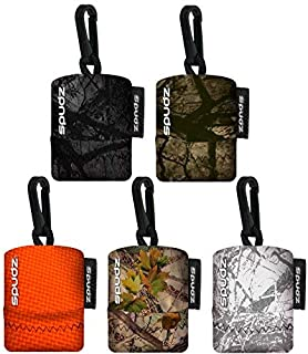 SPUDZ Outdoor Variety Pack 6 x 6 Microfiber Towel Neoprene Pouch, Premium Microfiber Cleaning Cloth for Laptops, Lenses, Cameras, Glasses, Windows, Screens, and More Variety Pack