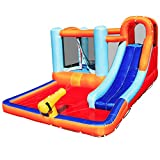 Giant Inflatable Bouncing Castle with Trampoline and Pool | Inflatable Water Toys for Kids| Fun...