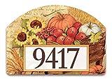 Patio diseño otoño carro Yard Sign # 71223