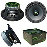 XPL XW08-403 XW08 403 altoparlante diffusore medio basso woofer 20,00 cm 200 mm 8' di diametro 150 watt rms 300 watt max impedenza 4 ohm 99 db auto casa dj party nero 1 pezzo