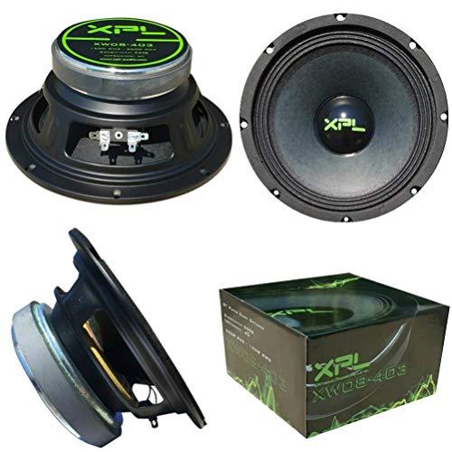 XPL XW08-403 XW08 403 Lautsprecher niedrige Mitte Diffuser tieftonlautsprecher 20,00 cm 200 mm 8