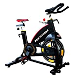 SPIN BIKE   Bicicleta spinning indoor   Volante de inercia 22 kg   uso intensivo   ajustable volante y asiento F & h Fitness