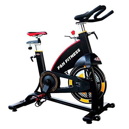 SPIN BIKE | Bicicleta spinning indoor | Volante de inercia 22 kg | uso intensivo | ajustable volante y asiento F & h Fitness