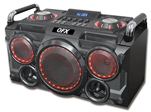 QFX PBX-265 Portable Party Pa System,Black