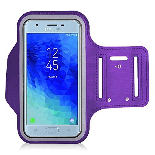 KP TECNOLOGY Brazalete para Samsung Galaxy J3 2018, para Correr, Ciclismo, Senderismo, Canoa, Caminar, Equitación, Equitación, y Otros Deportes